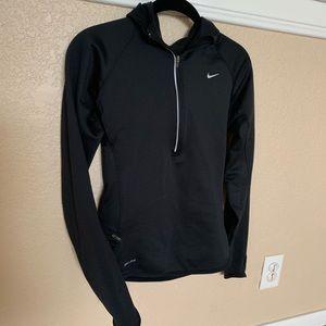 Nike dryfit black hoodie - size small